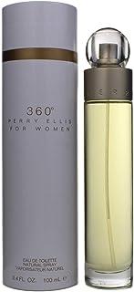Perry Ellis 360 Eau De Toilette Spray 3.4 Oz/ 100 Ml for Women By 3.4 Fl Oz , white