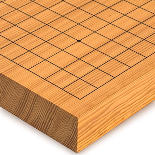 Yellow Mountain Imports Go Japanese Game Board (Goban), Shin Kaya Wood, Reversible Playing Fields, 1.6-Inch Thick