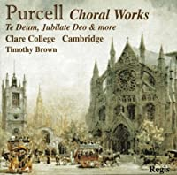Choral Works/Te Deu by H. Purcell (2008-01-01)