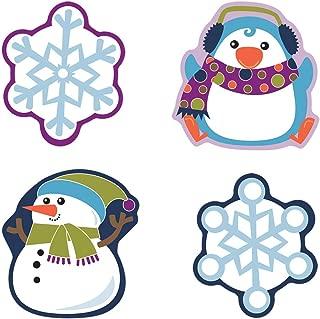 Carson Dellosa – Winter Mix Colorful Cut-Outs, Classroom Décor, 36 Pieces