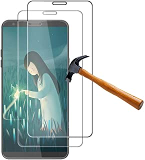 for LG Stylo4 Glass Screen Protector - [2 Pack] Tempered Glass Screen Protector 9H Film for LG Stylo 4 / LG Q Stylus L713DL / Q710MS / Q710TS / Q710AL Virgin / Q710ULM Amazon / Q710CS / Q710US