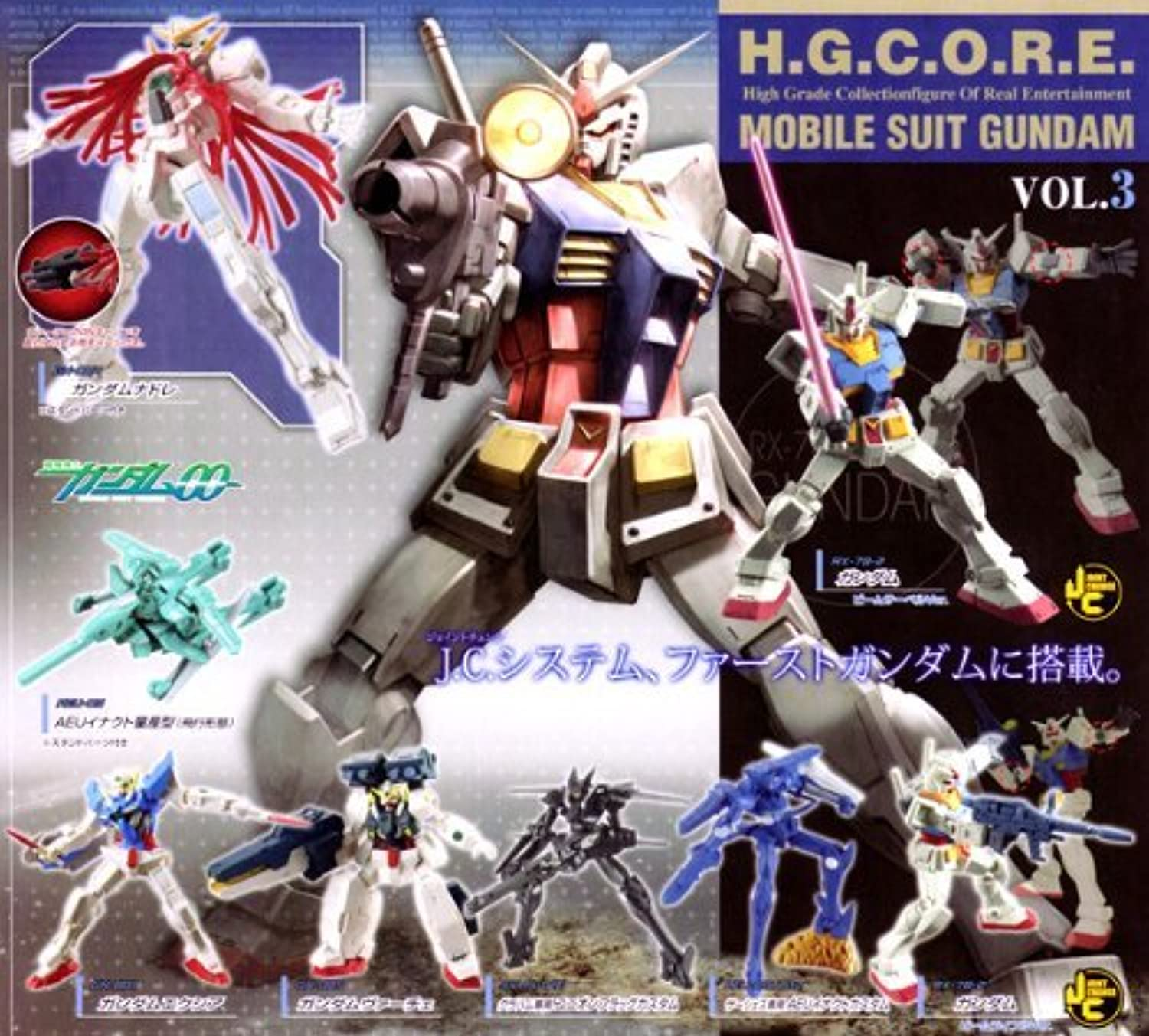 HG Gundam 00 Core figure Gashapon set Part 3