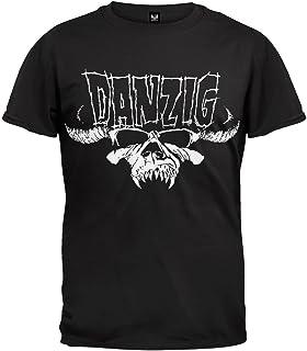 FEA メンズ Danzig Skull ロゴTシャツ