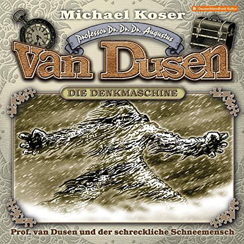Professor van Dusen und der schreckliche Schneemensch cover art