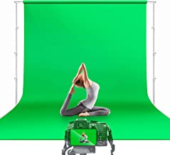 $39 » Julius Studio 10 x 12 ft. Green Screen Chromakey Backdrop Photo Video Studio Fabric Background for Movie, Photography Stud...