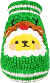 Pet Keep Warm Christmas Sweater Autumn and Winter Cat Dog Clothing