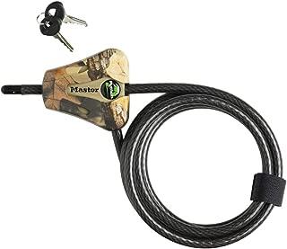 Master Lock 8418D Python Keyed Cable Lock 6 ft Long Camoflage
