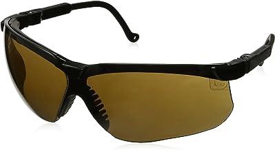 Howard Leight by Honeywell Genesis Sharp-Shooter Anti-Glare Shooting Glasses, Espresso Lens (R-03572)