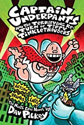 Cover of Captain Underpants and the Terrifying Return of Tippy Tinkletrousers