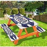 Mantel ajustable para mesa de picnic y banco de póquer, diseño de fichas de póker con borde elástico, 28 x 72 pulgadas, juego de 3 piezas para camping, comedor, exterior, parque, patio