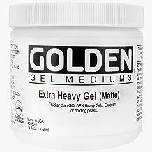 Golden Artist Colors 16 oz Matte Extra Heavy Gel