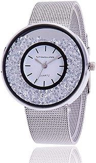 فانسفار ساعة رسمية نساء انالوج بعقارب ستانلس ستيل - V757