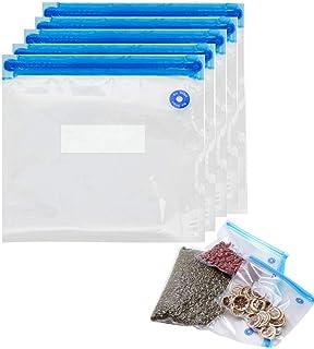 Vilihkc 10pcs Handy Portable Sealing Food Vacuum Sealer Bags Machine Kitchen Always fresh seal vac Heat Sealing Machine(NO...