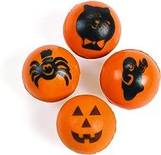 Halloween Bouncy Ball Assortment (48 balls) Party Favors & Decorations