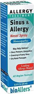 NatraBio, BioAllers, Sinus & Allergy Nasal Spray, Allergy Treatment, 0.8 fl oz (24 ml)