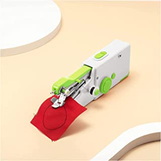 KASTWAVE Handle Sewing Machine,Mini Portable Electric Handheld Sewing Machine,Quick Stitch Tool For Fabric Clothing Kids C...