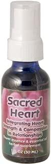 Flower Essence Services, Sacred Heart, Flower Essence & Essential Oil, 1 fl oz (30 ml) - 2pc