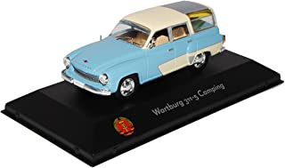 Wartburg 311-2 Cabrio Blau Beige 1956-1960 1//43 Modellcarsonline Modell Auto m..