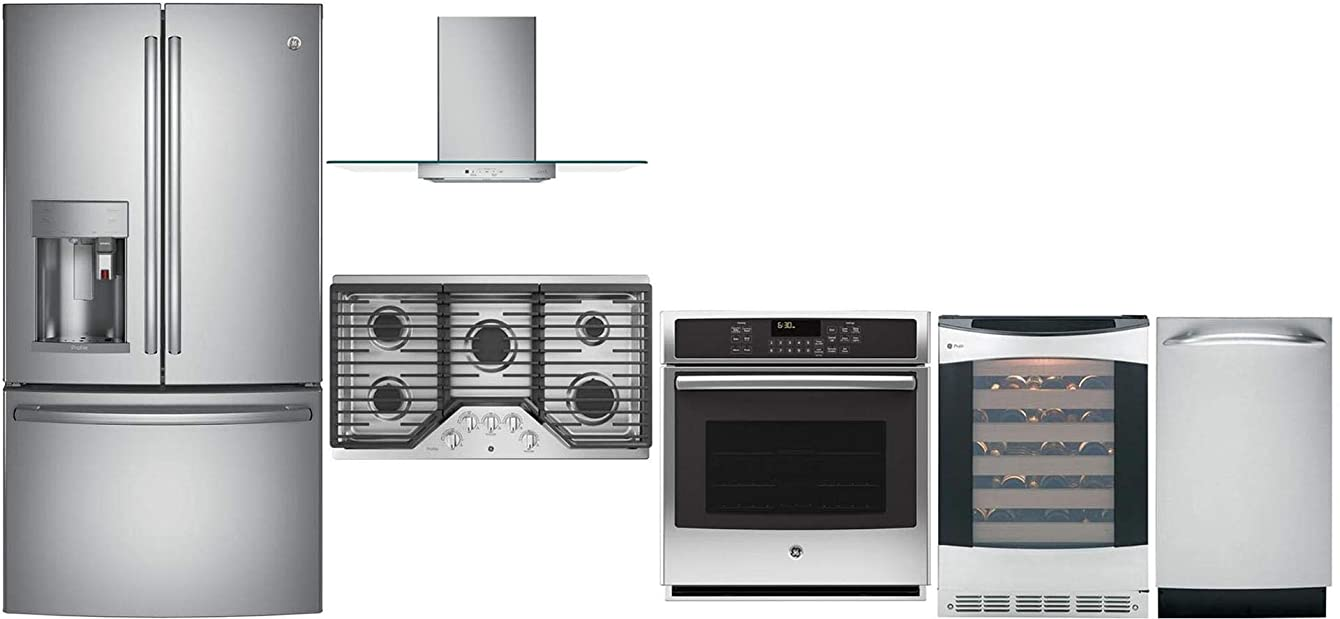 GE Profile 6 Pcs Kitchen Package with 36