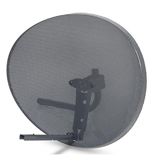 SSL Satellite Dish Without LNB forSky Sky Q HD FreeSat Hotbird HD SD (60x80cm (Zone 2))