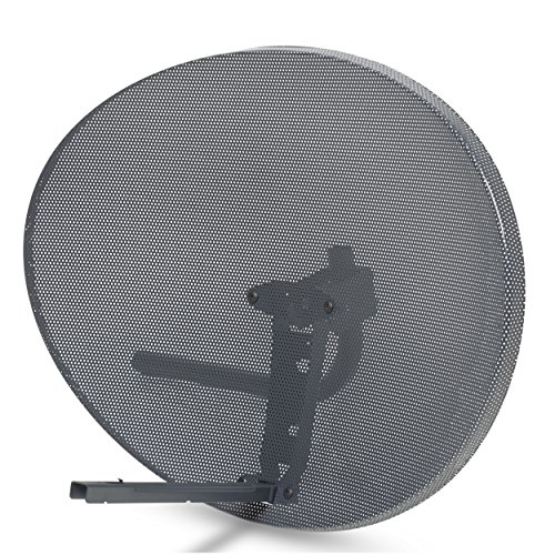 SSL Satellite Dish Without LNB forSky/Sky Q HD/FreeSat/Hotbird/HD/SD (60x80cm (Zone 2))