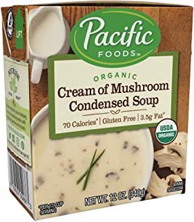 Pacific Foods Organic Cream of Mushroom Condensed Soup, 12oz