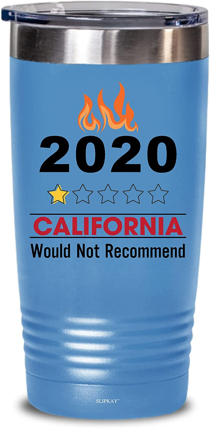2020 California Fires Would Not Gifts Tumbler 2021 model Washington Mall 20oz Recommend