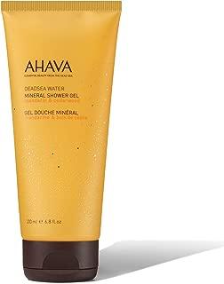 AHAVA 200 ml Mineral Shower Gel Mandarin/Cedarwood, 6.8 Fl Oz