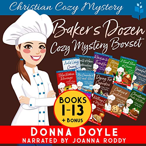 Baker's Dozen Cozy Mystery Boxset, Books 1-13 Audiobook By Donna Doyle cover art