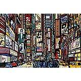GREAT ART® XXL Poster – Broadway – New York im Comic