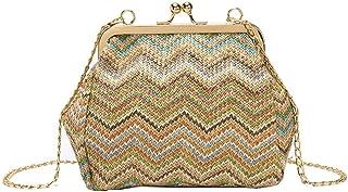 Umhängetasche Damen Clutch Mode Kleine Umhängetasche Für Frauen Abend Clutch Taschen Hasp Damen Handtasche Weibliche Stroh...