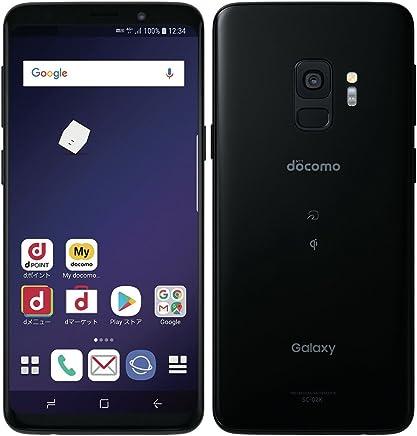 docomo SC-02K Galaxy S9 Midnight Black