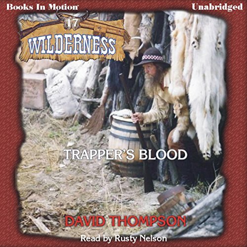Trapper's Blood audiobook cover art