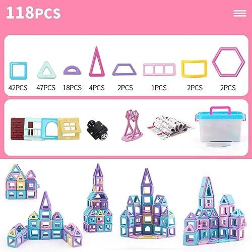Ungiftig und geschmacksneutrales reines magnetisches Stück Baustein-Set Variety zieht magnetisches Stück, um Erkennungs-Erkennungs-Spielzeug für Kinder zu erkennen (Farbe   E)