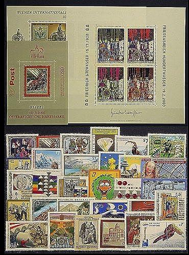 Goldhahn  erreich Jahrgang 2000 postfrisch  Nr. 2302-2335 Block 13-15 Briefürken für Sammler