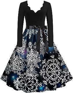 Xmiral Dress Women Gradient Rendering Print Long Sleeve O-Neck Maxi Dresses