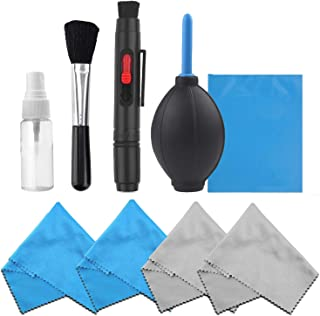 Professional Camera Cleaning Kit for DSLR Cameras (Canon, Nikon, Pentax, Sony) including 1 Double Sided Lens Cleaning Pen ...