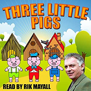 Three Little Pigs cover art