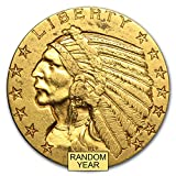 1908-1929 $5 Indian Gold Half Eagle XF (Random Year) G$5 Extremely...