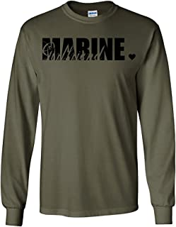 Marine Girlfriend Long Sleeve T-Shirt