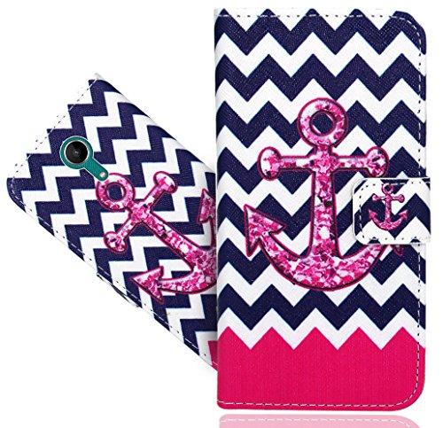 Wiko Tommy 2 Handy Tasche, FoneExpert® Wallet Hülle Flip Cover Hüllen Etui Hülle Ledertasche Lederhülle Schutzhülle Für Wiko Tommy 2