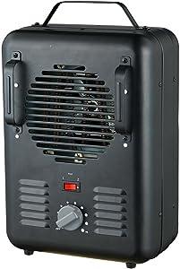 1,500-Watt Utility Milkhouse Thermostat Portable Fan Heater