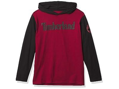 Timberland Long Sleeve Logo Hooded T-shirt
