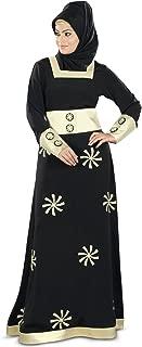 MyBatua Women's Islamic Dress Ramadan Eid & Party Wear Designer Dubai Abaya