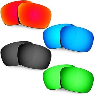 Hkuco Plus Mens Replacement Lenses For Oakley Badman - 4 Pair
