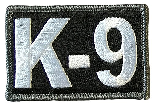 K-9 Tactical Patch 2'x3' - Black