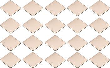 JIUWU IC Chipset GPU CPU Thermal Heatsink Copper Pad Shim Size 20 x 20 x 0.8mm Pack of 20