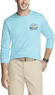 IZOD Men's Saltwater Long Sleeve Graphic T-Shirt