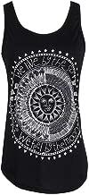 Adeliber Women's Sun Print Shirt Fashion Sleeveless Vest T-Shirt Shirt Casual Sports Vest Top