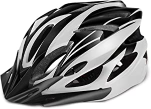 Bike Helmet with Adjustable Size for Adult Youth, CPSC Certified Cycle Helmet with 18 Vents and Removable Sun Visor, Bicyc...